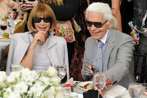 At a lunch for Karl, September 10.