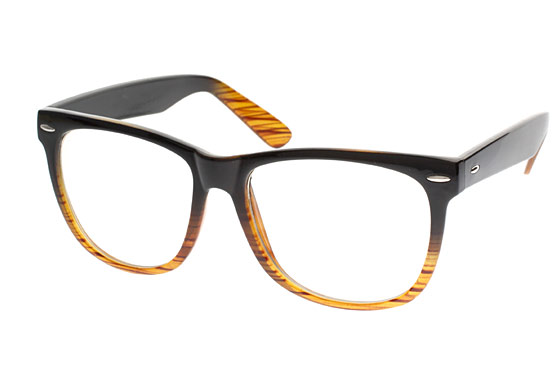 "ASOS Clear Lens Wood Frame Glasses, $20.22 <a href=""http://www.asos.com/Asos-Collection/Asos-Clear-Lens-Wood-Frame-Glasses/Prod/pgeproduct.aspx?iid=1163651"">online</a>."