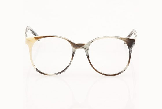 "Prism London Frames in Zebra Horn, $360 at <a href=""http://nymag.com/listings/stores/opening-ceremony/"">Opening Ceremony</a> or <a href=""http://www.openingceremony.us/products.asp?menuid=2&menuid2=3&designerid=275&productid=12717"">online</a>."