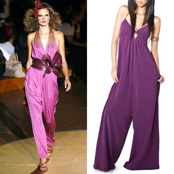 "Dolce Vita Berkely jumpsuit, $109.95 <a href=""http://www.shopdolcevita.com/detail.aspx?ID=1152"">online</a>."