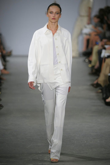 If you've ever wanted to buy a white suit, now's your moment. Here's Krakoff's take.
