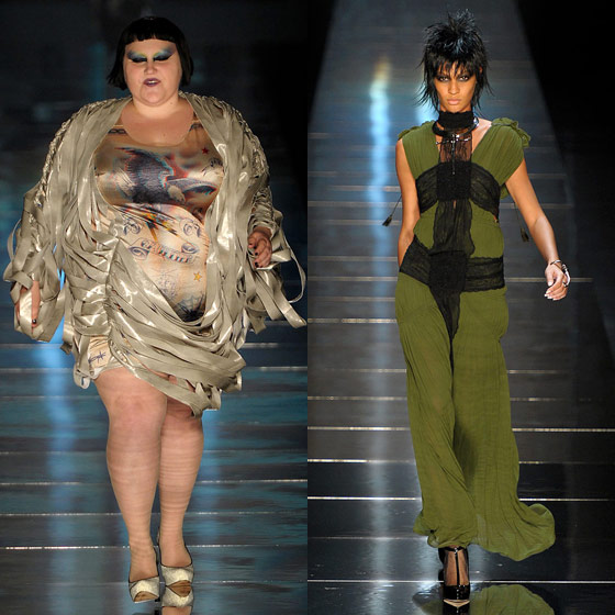 "<strong>OPENER:</strong> Beth Ditto<br><strong>CLOSER:</strong> <a href=""http://nymag.com/fashion/models/jsmalls/joansmalls/"">Joan Smalls</a>"