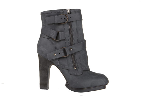 The Aloquin boot, whose Balenciaga-like properties and stacked heel are very appealing. $330.