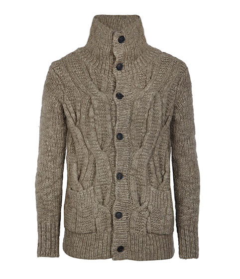 A crowd-pleasing cardigan in a neutral color, $220.