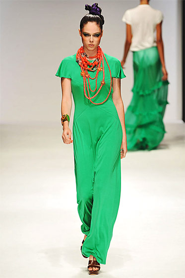 Green! From spring/summer 2010.