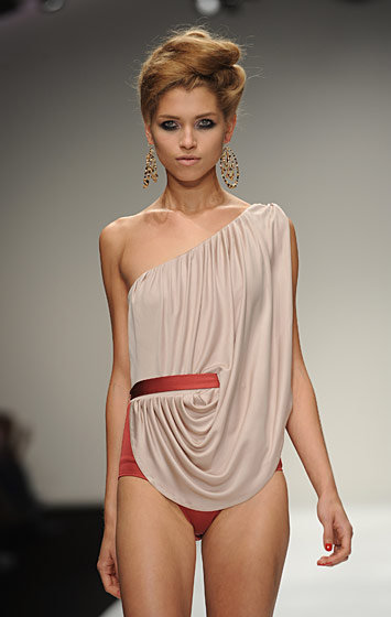 The occasional bathing suit does make an appearance. Spring/summer 2011.