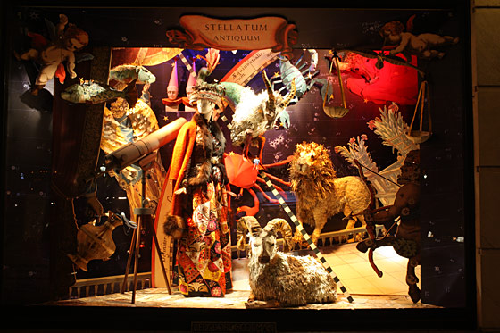 Bergdorf indulges those who can't get away for the holidays, featuring fantasy travel scenes.