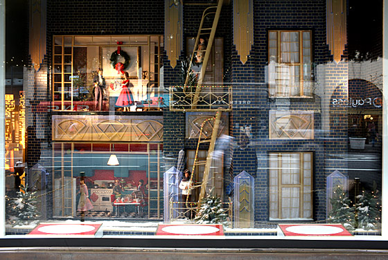 Lord & Taylor's own customers provided inspiration for this year's windows: The store asked shoppers to submit their favorite holiday memories last spring.