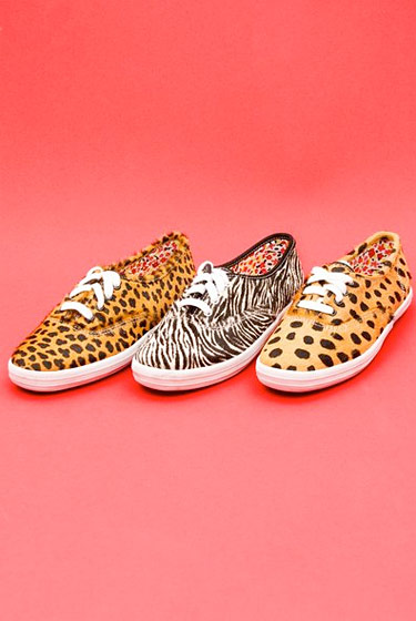 Which cat would you like? Keds for Opening Ceremony, $125.