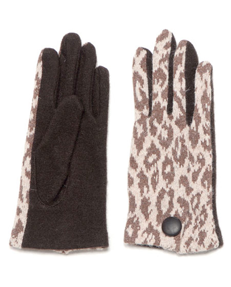 Echo's cheetah-print glove at Bird, $38.