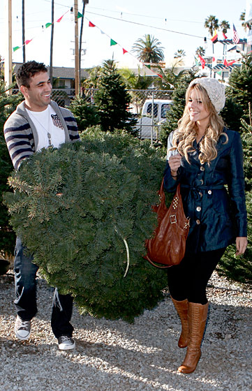 In case you're not up to speed with your <em>Us Weekly</em> and your <em>InTouch</em>, Ali is a Bachelorette. Do photo ops with trees mean she's one step closer to making like one and, well, you know?