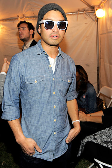 Chad Hugo (N.E.R.D.) performed at the <i>Paper</i> Magazine–AOL–Friends With You party.