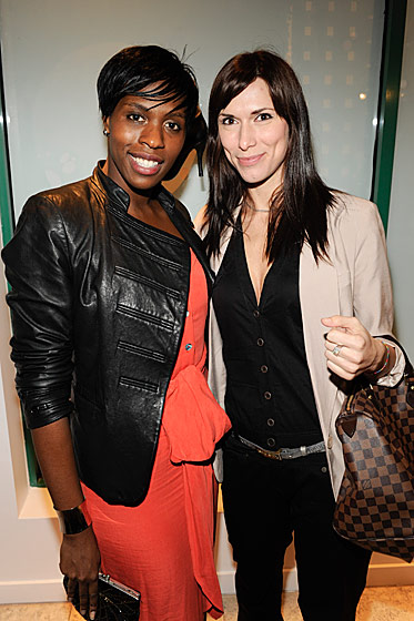 Liza Osagie and Lucia Raboska at Bally Love.