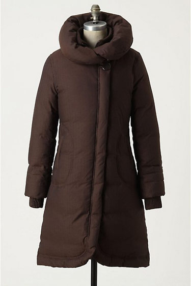 Anthropologie's puffer, $318 at anthropologie.com.