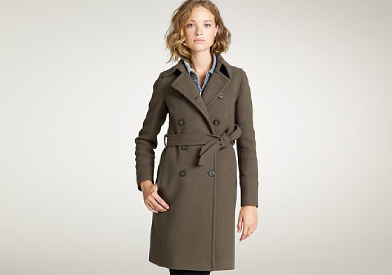 Stadium coat, $325 at jcrew.com.