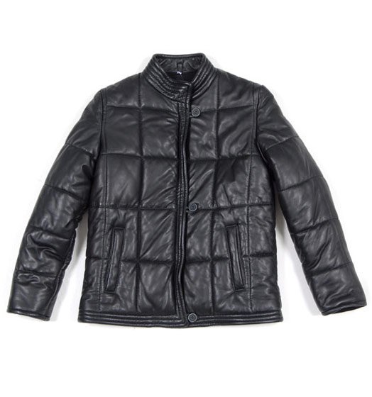 Ligne 6 by Martin Margiela's quilted leather short coat, $749 at shopbird.com.