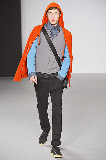 "See more from <a href=http://nymag.com/fashion/fashionshows/2011/fall/main/europe/menrunway/agnesb/"">Agnes B.'s Fall 2011 Menswear Collection</a>."