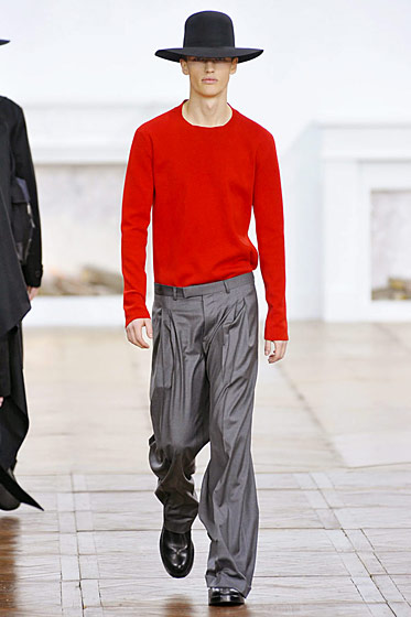 "See more from <a href=""http://nymag.com/fashion/fashionshows/2011/fall/main/europe/menrunway/diorhomme/"">Dior Hommes' Fall 2011 Menswear Collection</a>."
