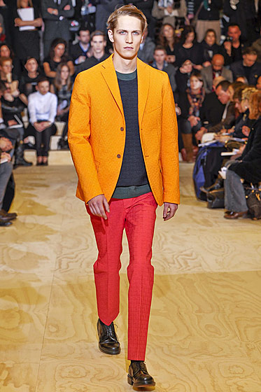"See more from <a href=""http://nymag.com/fashion/fashionshows/2011/fall/main/europe/menrunway/jilsander/"">Jil Sander's Fall 2011 Menswear Collection</a>."