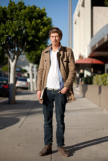 "Tom, shot in Beverly Hills by <a href=""http://streetgeist.com/2011/01/tom/"">Streetgeist</a>."