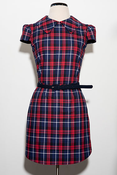 Plaid dress by Rachel Antonoff.