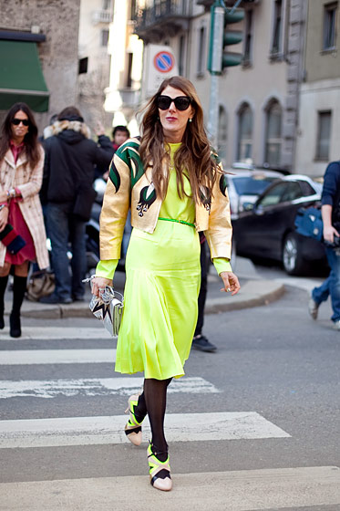 Anna Dello Russo, fashion director at large of <em>Vogue</em> Nippon, from Milan.