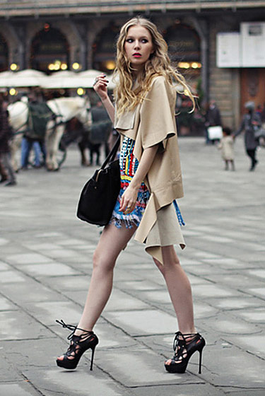 "Carolina, shot in Stockholm for <a href=""http://lookbook.nu/look/1559864-thursday-fashionsquad"">Lookbook.nu</a>."