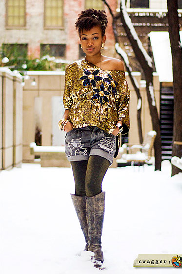 "Monique, shot in New York by <a href=""http://swaggernewyork.com/2011/01/30/swaggers-resident-style-queen-monique-kiera/"">Swagger New York</a>."
