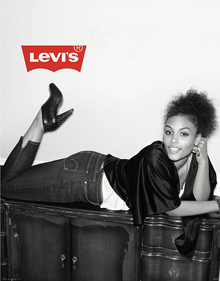 The face of Levi's, spring 2011. Photographed by Sesse Lind.