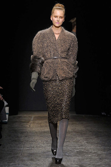 "See the <a href=""http://nymag.com/fashion/fashionshows/2011/fall/main/newyork/womenrunway/donnakaran/"">complete fall 2011 Donna Karan collection</a>."