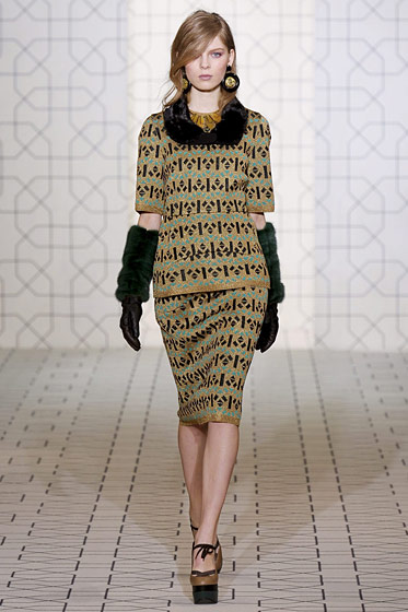 "See the <a href=""http://nymag.com/fashion/fashionshows/2011/fall/main/europe/womenrunway/marni/"">complete fall 2011 Marni collection</a>."