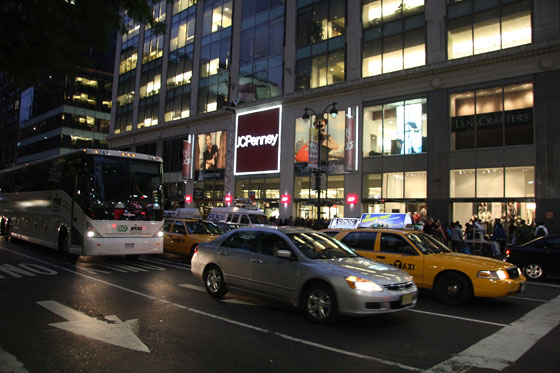 """J. C. Penney has always trafficked in knockoffs that aren't quite up to Canal Street's illegal standards. It was never 'get the look for less' so much as 'get something vaguely shaped like the designer thing you want, but cut much more conservatively, made in all-petroleum materials, and with a too-similar wannabe logo that announces your inferiority to evil classmates as surely as if you were cursed to be followed around by a tuba section.'"" </br></br>