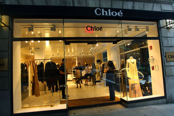 """[Designer Paulo Melim Andersson's] boxy, conservative lines don't embrace free, youthful rebellion so much as they suggest that Chloé, in a rut of depression and weight gain, is becoming a bit square... </br></br>Unlike the Justin Timberlake album that oozed from start to finish over Chloé's airwaves, Mr. Andersson apparently has no intention of bringing sexy back…Getting out of one black dress with a high swoop neck and a structured waist proved nearly impossible. The wool constricted violently; I could smell the agony of other women who had been trapped in that dress before me, and had possibly died in it ($2,400).""
