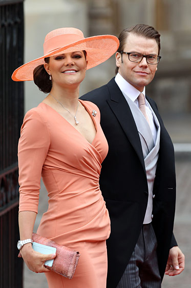 Crown Princess Victoria of Sweden in Elie Saab.