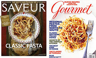 There's life beyond Gourmet and Saveur