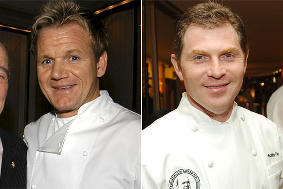 bobby flay and gordon ramsay