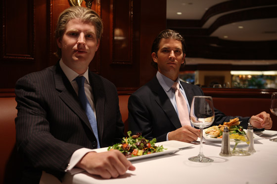 Donald Trump, Jr. and Eric Trump