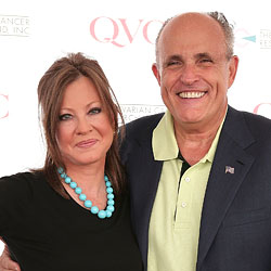 Rudy Giuliani and Judith Nathan