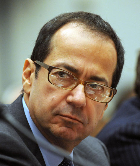 "John Paulson made an absolute killing this year by betting against the subprime-mortage market. He then <a href=""http://nymag.com/daily/intel/2008/11/for_john_paulson_and_friends_t.html"">toasted his success</a> with a few cases of $500-a-bottle Chateau Lafite as the rest of the world around him went up in metaphorical flames. We still can't decide if we want to punch him in the mouth or have sex with him."