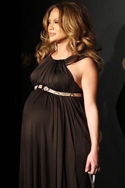 Pregnant Jennifer Lopez