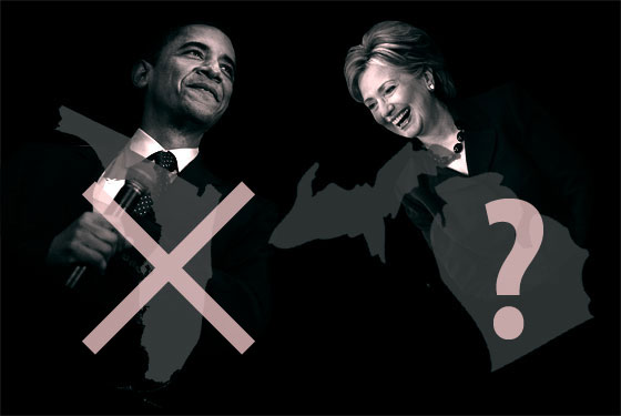 Obama, Clinton, Michigan, and Florida