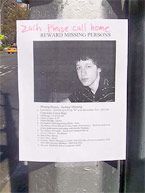 Missing Teen Poster