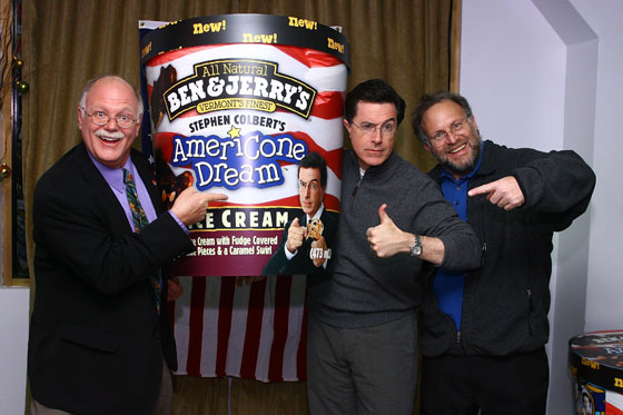 Stephen Colbert S Excruciating Brain Freeze Party Photos Vulture America has made mistakes before this—i would say the dred scott decision's still worse than what we have going on right now. new york magazine
