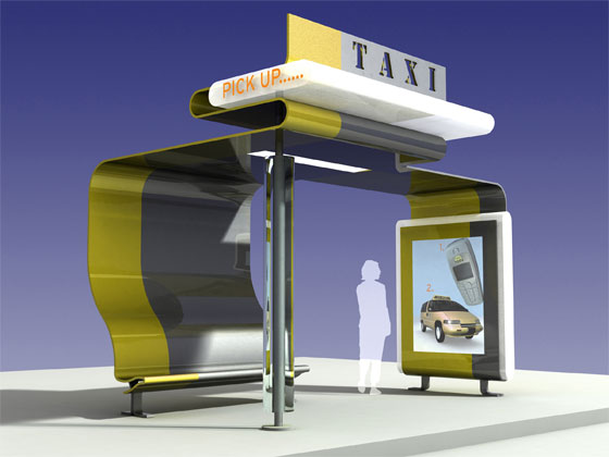 Taxi Stand of the Future!