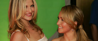 Ali Larder and Hayden Panettiere