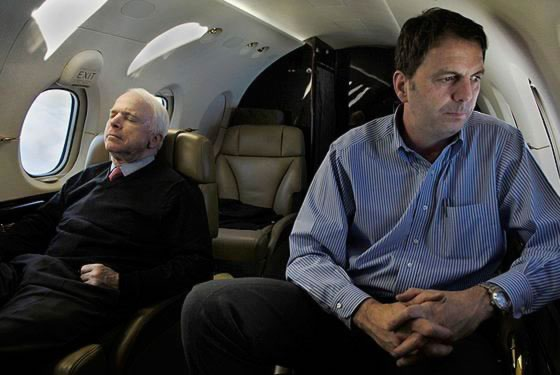 Philosophy blog: McCain on campaign trail ironic