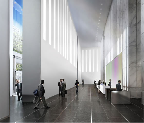 Take A Look At The Freedom Tower Lobby