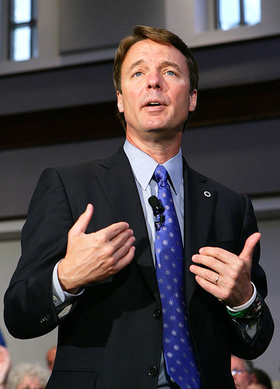 4/16/07: Unfortunately for John Edwards, his $400 haircut and his extramarital affair will completely overshadow anything else he accomplished in his presidential campaign.