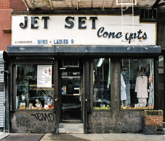 The name of the store is either Jet Set Concepts, or Jet Set Concept. But either way it's got wigs, ladies, & ...