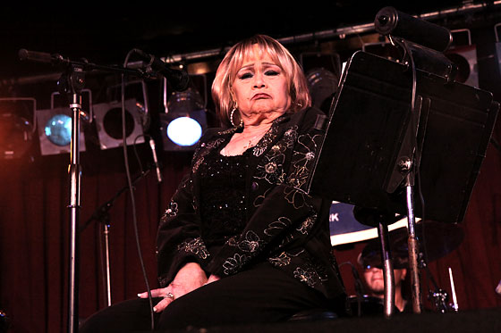 "At a concert in Seattle, a testy Etta James told the crowd, ""You know, your president, the one with the big ears -- he ain't my president -- had that woman singing for him at his inauguration."" She later apologized and claimed she was trying to be funny."